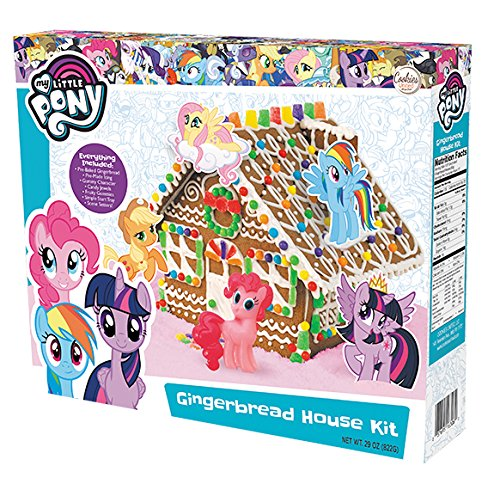 My Little Pony Gingerbread House Kit (Cookie House Kit)