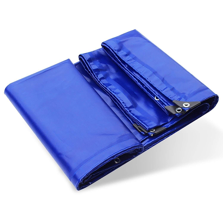 防雨防水シート 防水シート防水、ブルーPVCポリターポリン、グロメット付き24ミルオーニング/カーパーゴラリバーシブルサンブロックブロックファブリックタープ (Color : Blue, Size : 2x3m) B07STBGQTQ Blue 2x3m