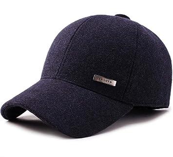 SMACO Gorra De Béisbol con Diseño De Tweed De Lana De Invierno para Hombres  Sombreros con fd54ee73287