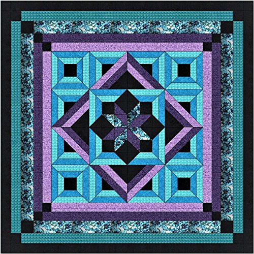 Easy Quilt Kit Twilight/Queen!//EXPEDITED SHIPPING by Galaxy