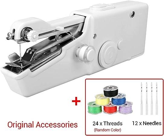 Máquinas de Coser Mini portátil de Mano 1Ponga máquina de Coser de ...