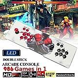 Focussexy Video Game Console Pandoras Box 5s 986 in 1 Arcade Game Retro Gamepad HDMI VGA USB