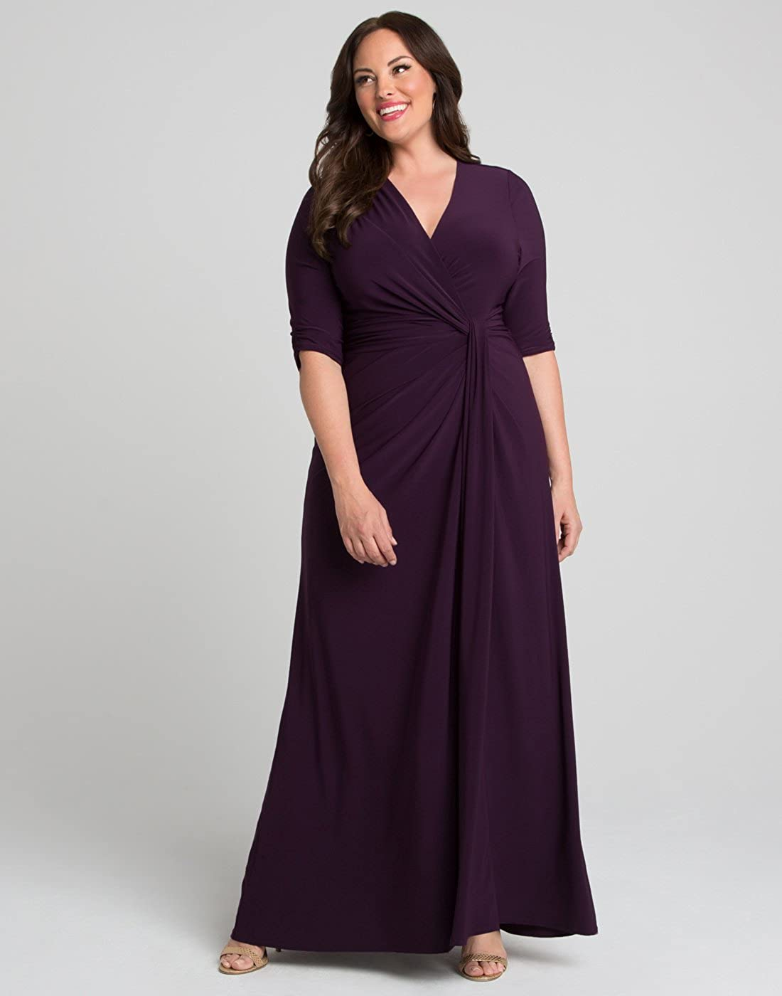 94c2f660222 Kiyonna Women s Plus Size Romanced by Moonlight Gown at Amazon Women s  Clothing store