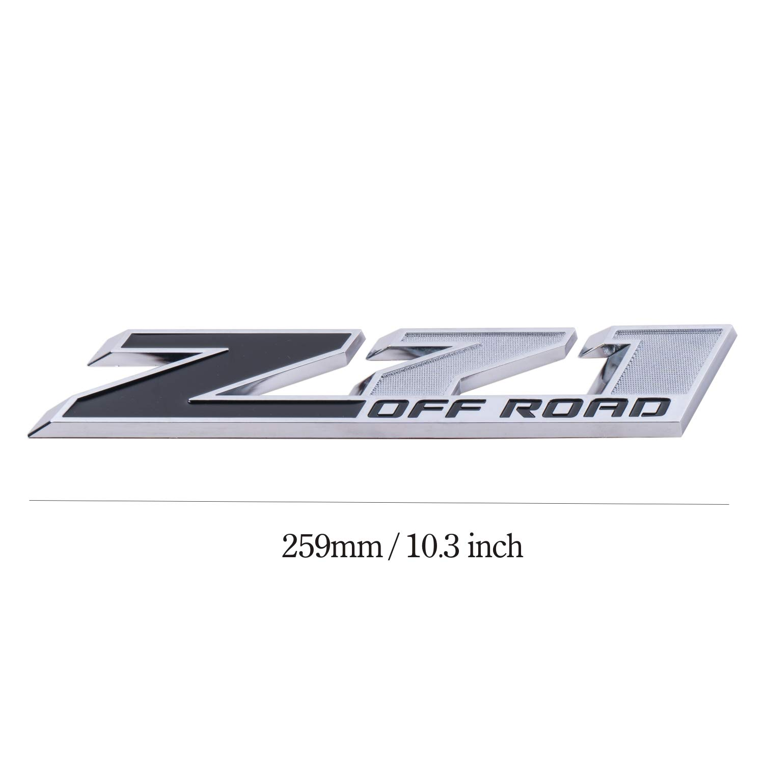 Z71 Emblem Badge Plate Decal for 2018 COLORADO GMC Chevy Silverado 2014 2015 2016 2017 2018 5L