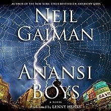 Anansi Boys Audiobook by Neil Gaiman Narrated by Lenny Henry