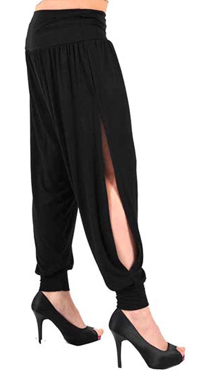 Girls Walk Women's Full Length Side Cut Harem Trousers