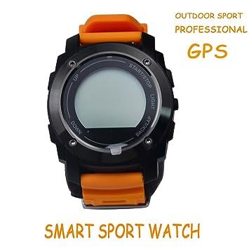 Orange Tracker De Actividad Con Reloj Inteligente For Girls , Shengyaohul Smart Watches Bluetooth / Escalada