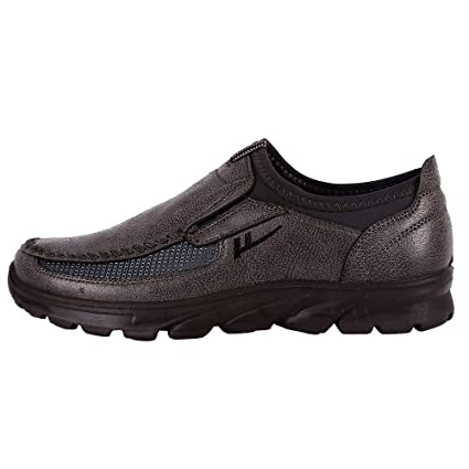 LuckyGirls Zapatillas para Hombre Casual Calzado de Deportivo Transpirables Zapatos Informales Bambas Zapatos para Perezoso Náuticos