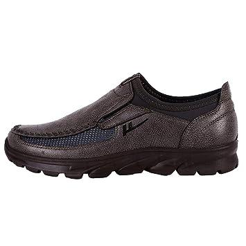 LuckyGirls Zapatillas para Hombre Casual Calzado de Deportivo Transpirables Zapatos Informales Bambas Zapatos para Perezoso Náuticos Mocasines Sin Cordones: ...