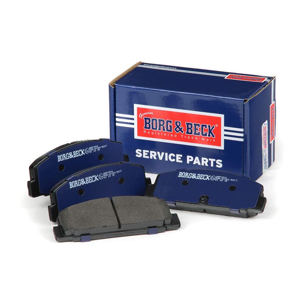 Borg /& Beck BBP1816 Kit pastiglie Freno