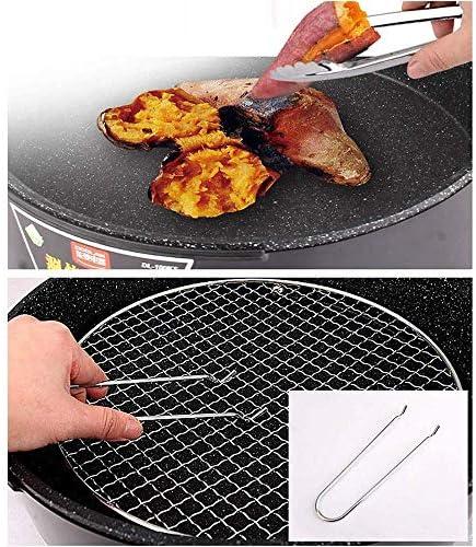 Gril Barbecue Gril de Table éLectrique Teppanyaki,Gril éLectrique Sans FuméE,Barbecue IntéRieur Et Plaque Chauffante de Plaque Chauffante avec éGouttoir IntéGré Durable
