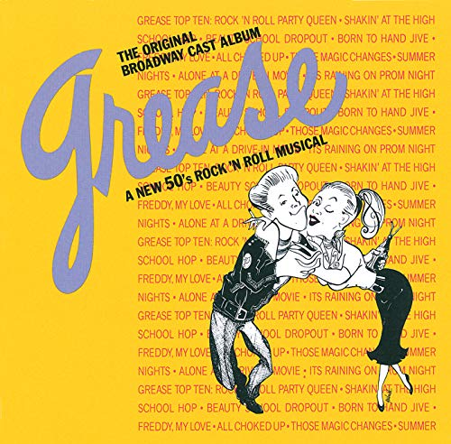 - Grease - The Orignal Broadway Cast Album