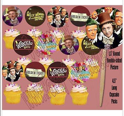 Chocolate Factory Movie Bar Golden Ticket 1.5