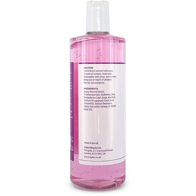 mylee Pre cuidado 500 ml Pre/cera depilatoria piel limpiador: Amazon.es: Belleza