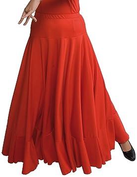 b8e38ac812f Happy Dance 147 - Jupe de Flamenco pour Fille  Amazon.fr  Sports et ...
