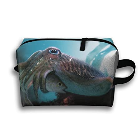 Cuttlefish Eat Fish Travel   Home Use Storage Bag ad853940902c5
