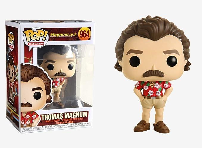 TELEVISION: Magnum P.I - Thomas Magnum Vinyl Fig FUNKO POP New Toy