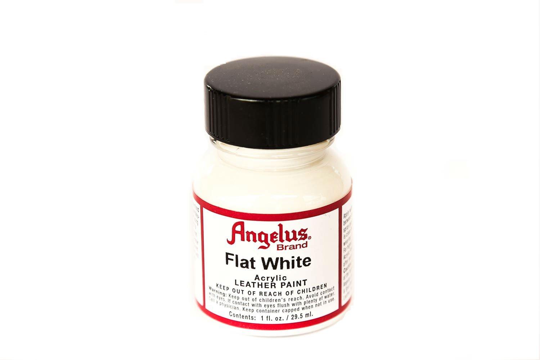 Angelus Pintura acrílica para cuero Flat White 29.5ml