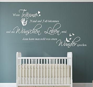130x55cm W-TK02a Wandtattoo Kinderzimmer Babyzimmer ...