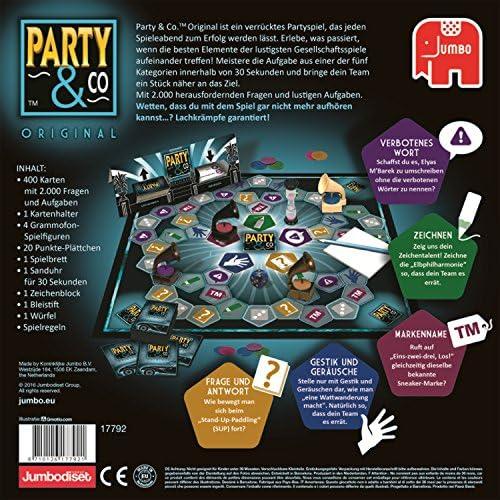 Party & Co. Original Adultos Juego de mesa de carreras - Juego de tablero (Juego de mesa de carreras, Adultos, 45 min, Niño/niña, 14 año(s), 01/08/2017) - [Idioma Aleman]: Amazon.es: Juguetes y juegos
