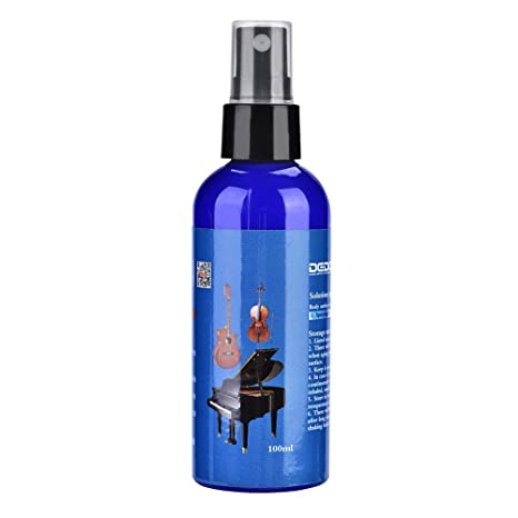 Dilwe Spray Limpiador de Instrumentos de Madera, 100 ML, Aceite de Limpieza Líquido de