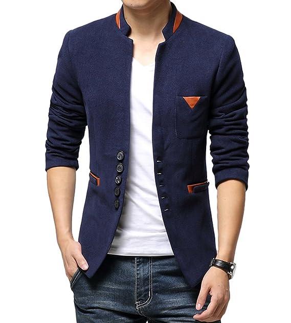 BLAZER SAKKO ANZUG jaket mit Hemd blau Gr140 Top