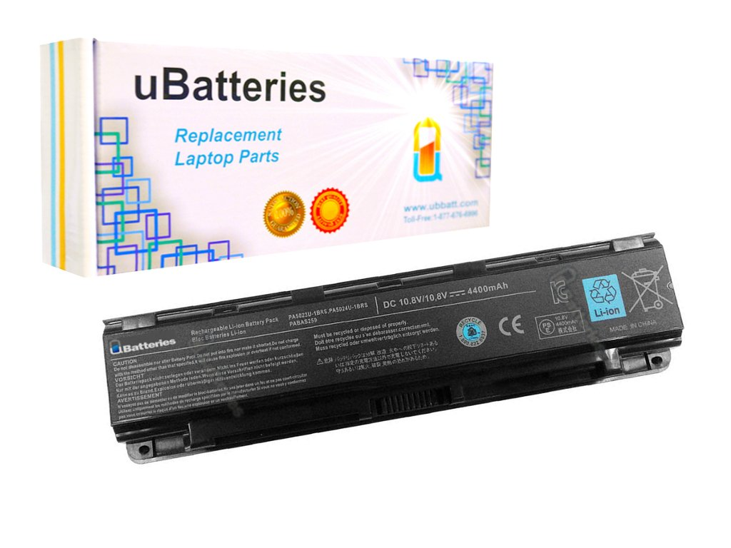 UBatteries Compatible 48Whr Laptop Battery Replacement For Toshiba Satellite S850 S850-B S855 S855D S870 S875 S875D Series