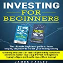 Investing for Beginners: Covering all aspects of investing including real-estate and stock market investing Audiobook by James Harley Narrated by Alan Sewell