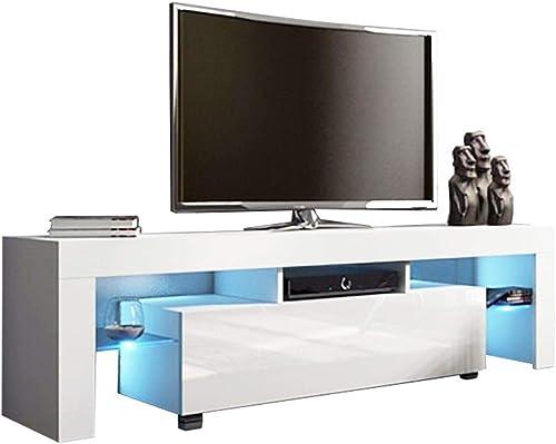 US Fast Shipment White TV Stand