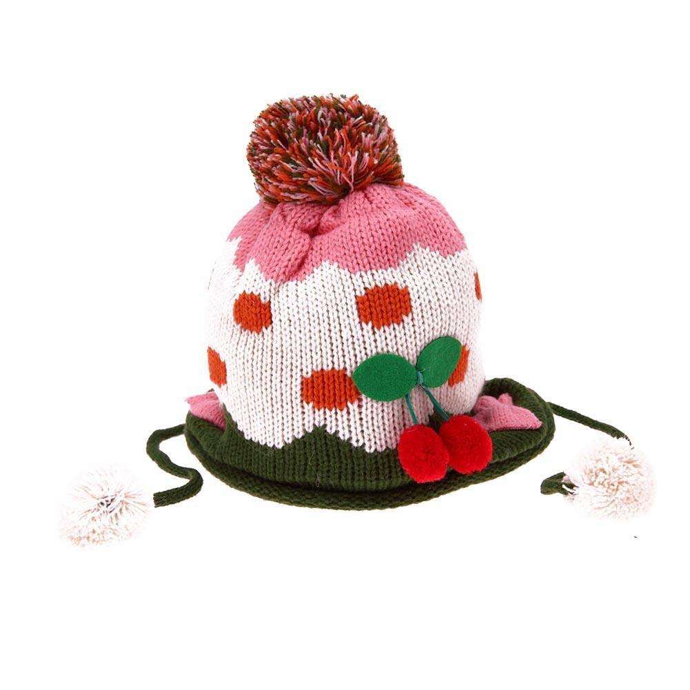 Domybest 2pcs Set di Cappello Pesante + Sciarpa di Lana Cappello Infantile  Sciarpe Invernali per Neonati 6a5f406f865e