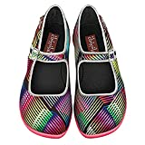 Hot Chocolate Design Chocolaticas Kinetic Women's Mary Jane Flat Multicoloured HCD 37