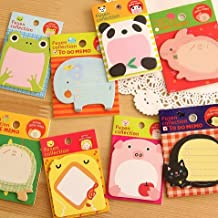 5Pcs/lot Cute Zoo Animal Planner Sticker School Supplies Stationery Sticky Notes Notepad Post it Filofax Papel
