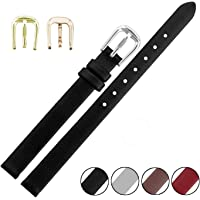 Genuine Leather Watchband For Women Small Size Watch Straps 6Mm 8Mm 10Mm More Colors