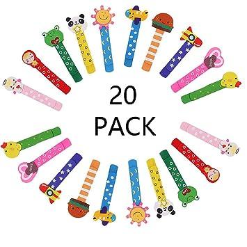 20 Madera marcapáginas página clip, animal marcapáginas, marcador libro para niños favores partido fiesta niños rellenos bolsas regalo cumpleaños ...