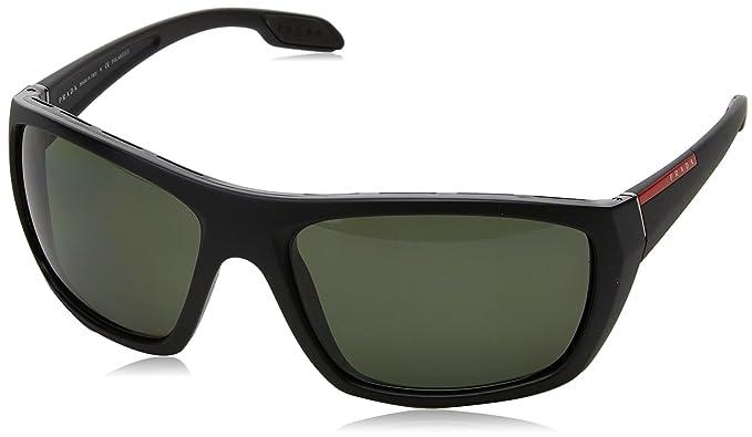 apariencia elegante rebajas outlet precio favorable Prada Linea Rossa 0PS 06SS Gafas de sol, Matte Black, 61 ...