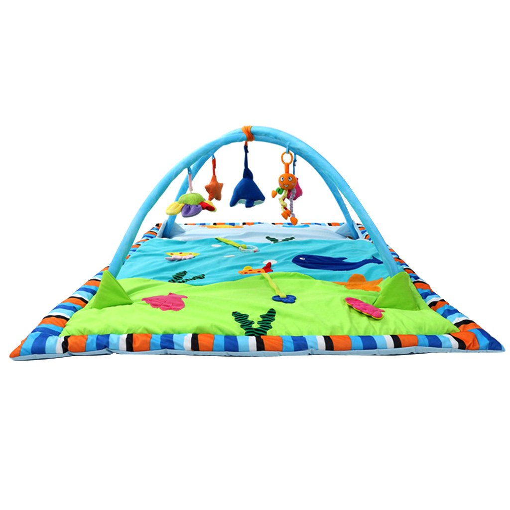 Dovewill Baby Toys Animals Educational Crawling Activity Mat Play Gym Carpet Puzzle Mat - Ocean, as described by Dovewill (Image #10)