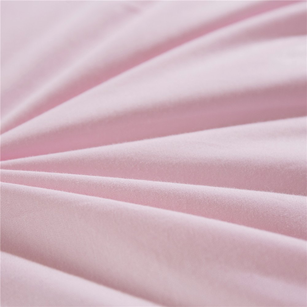 Topsleepy LUXURIOUS All Size 75% Goose Down Comforter ,1200TC 100% Cotton Shell Down Proof 750 Fill Power, 50 Oz Fill Weight ,LIGHT PINK Color,Hypo-allergenic (California King Size) by Topsleepy (Image #6)
