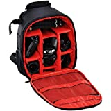 PHOTO MASTER Waterproof DSLR Camera Backpack for Canon 1300D 1200D 700D 600D 550D 80D 70D 60D 6D 5D Mark II / III / IV, Nikon 3100 3200 3300 5300 5500, Sony a6000 a6300 a6500 a5000 a7 a7s and More
