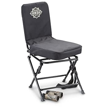 HuntRite Swivel Hunting Chair Black  sc 1 st  Amazon.com & Amazon.com : HuntRite Swivel Hunting Chair Black : Hunting Blinds ... islam-shia.org