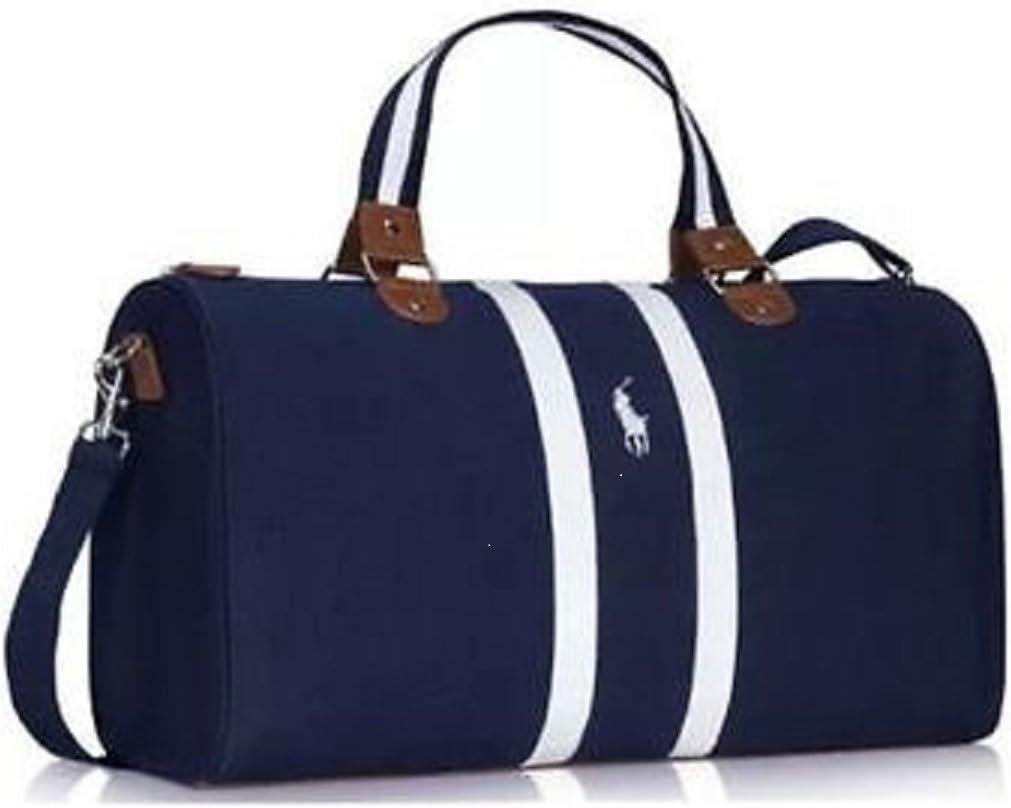 Ralph Lauren - Bolso para viaje o deporte, azul marino: Amazon.es ...