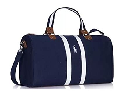 Ralph Lauren World Of Polo Dark Navy Blue Weekend   Travel   Gym   Holdall  Bag  Amazon.co.uk  Luggage 7ae02c9e29899