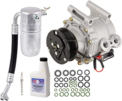Amazon Com Ac Compressor A C Kit For Chevy Trailblazer Gmc Envoy Buick Rainier Saab 9 7x Isuzu Ascender Olds Bravada 4 2l Buyautoparts 60 80265rk New Automotive