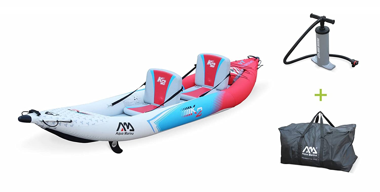 Alices Garden - Canoe Kayak hinchable, 2 personas, 4,12m + ...