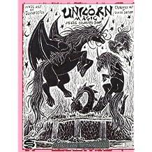 Unicorn Magic: Maze Coloring Book