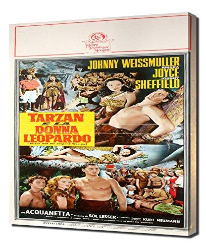 Poster - Tarzan and the Leopard Woman_09 - Canvas Art Print ()