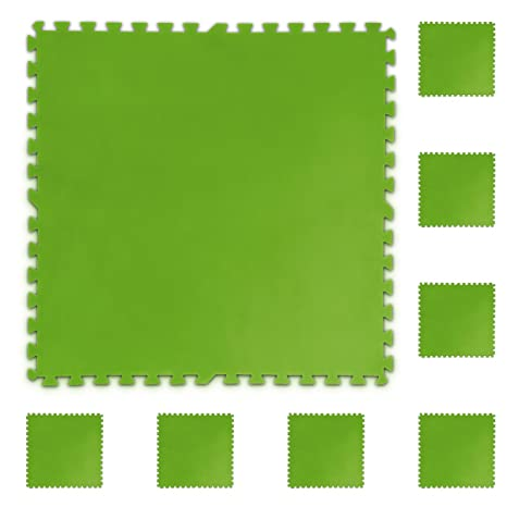 Protector de suelo para piscinas Base Set de 8 piezas 81 x 81 cm Esterillas de