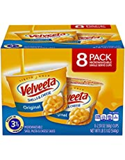 Velveeta Original Shells & Cheese Microwavable Cups (2.39 oz Cups, Pack of 8)
