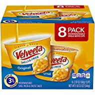 Velveeta, Original Microwavable Shells & Cheese Cups, 8-2.39 oz cups (total 1 Lb 3.1 oz/544g)