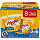 Velveeta Original Shells and Cheese Single Serve Microwave Dinner (2.39 oz Cups, 8 Count)