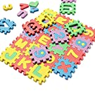 Thinkmax  36Pcs Alphabet Number EVA Puzzle Foam Mats Baby Child Kids Teaching Tools Toy Gift